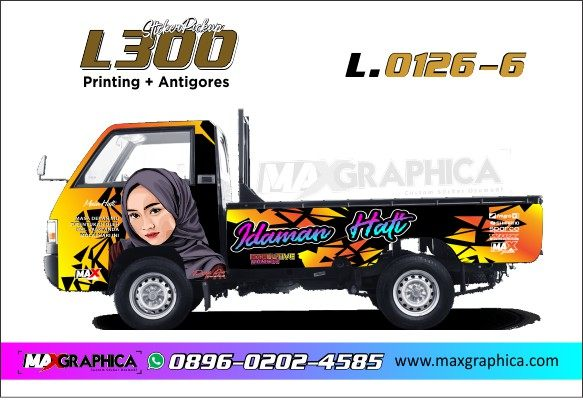 cutting sticker L 300 sidoarjo