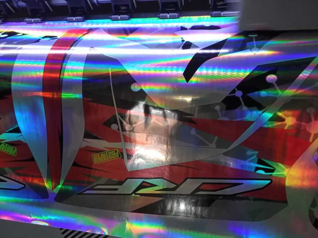 decal CRF hologram 114